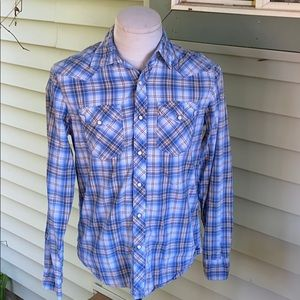 American Eagle men's plaid shirt. Size small.